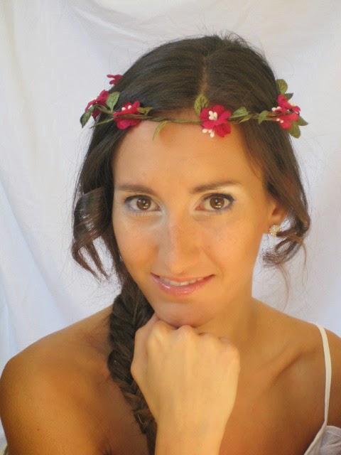 maquillaje de novia, natural, rosa, azul,vainilla, cazcarra