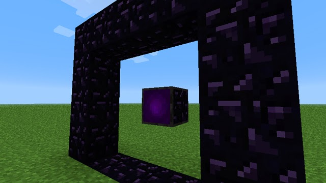 Enhanced Portals Mod obsidiana