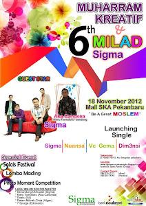 Muharram Kreatif dan MILAD SIGMA 6th
