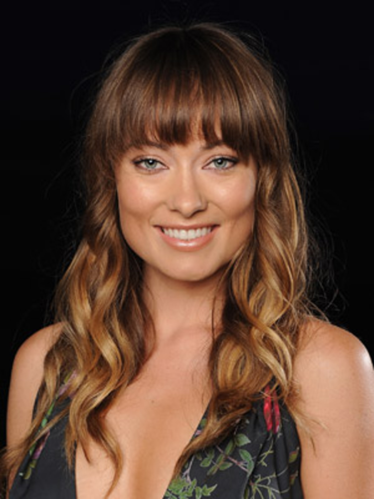 Popular Celebrity Curly Hairstyles Olivia Wilde
