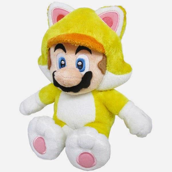 Peluche Mario Bros Gato