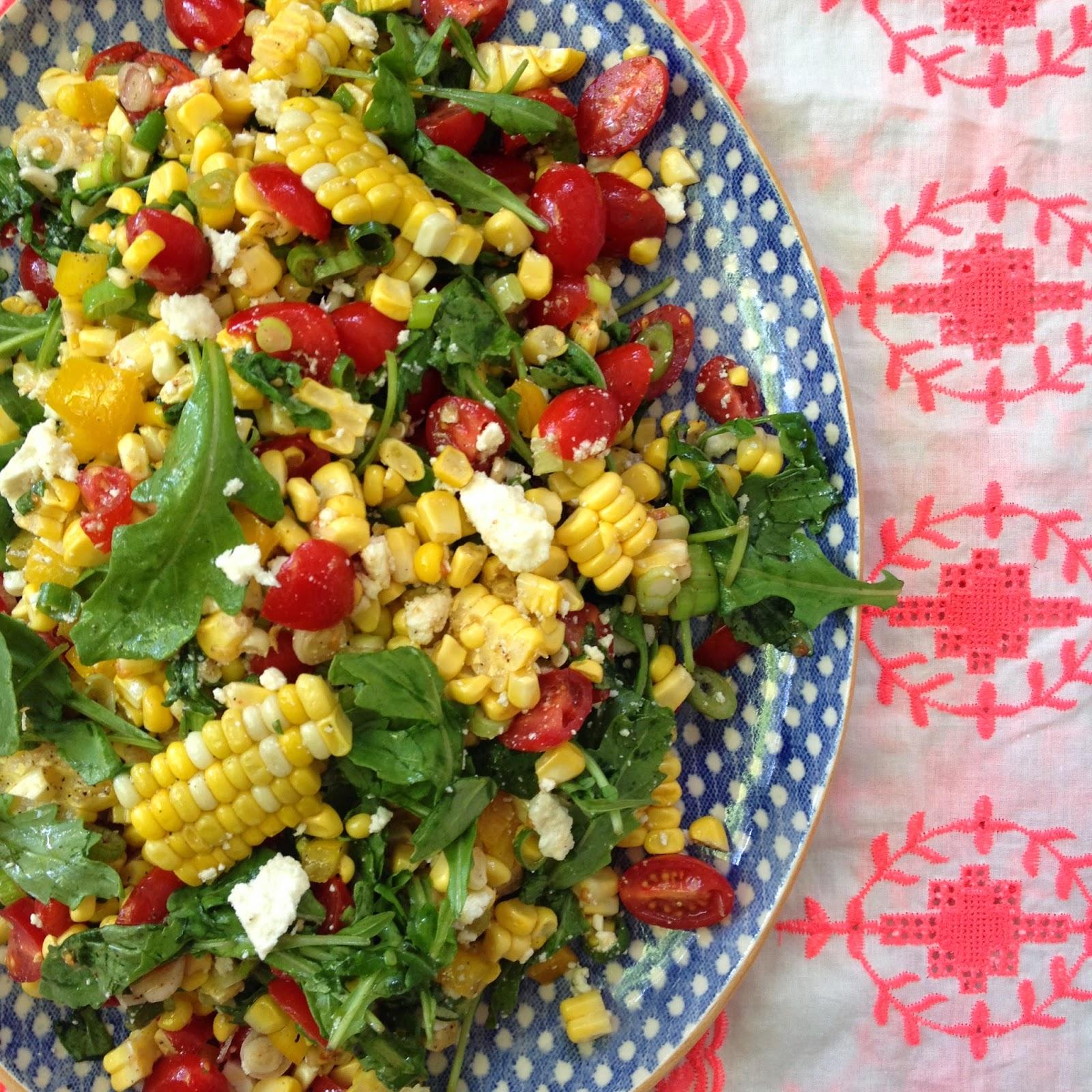 Summer Corn Salad + Open Door Shop - Designer Bags & Dirty ...