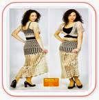 Falda Crochet Calada