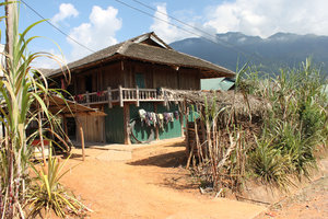 A house of the Lừ ethnic minority people in Pa Há
