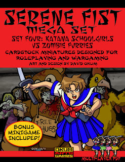 Katana Schoolgirls vs Zombie Furries OKUM
