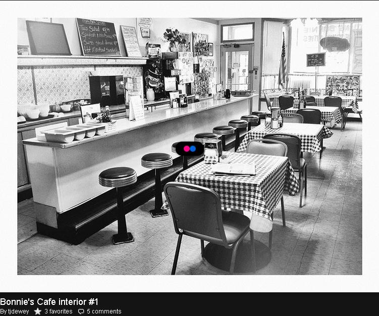 meja bar unik kafe