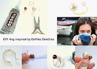 diyblog, diycraft, diyproject, diyring, jewelry, diyjewelry, diy delfina delettrez, geox, delfina delettrez, fashionblog, fashionblogger