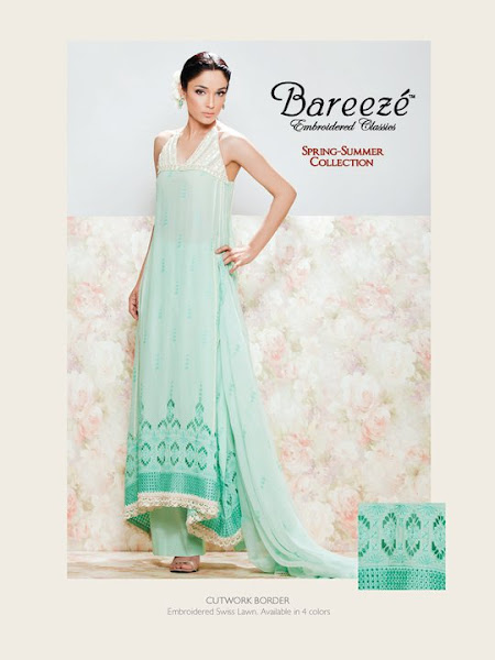 Bareeze Embroidered Classics Spring/Summer Collection 2012