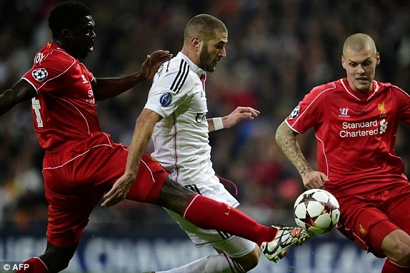 VIDEO Real Madrid 1 - 0 Liverpool Filmato Gol Highlights [Champions League]