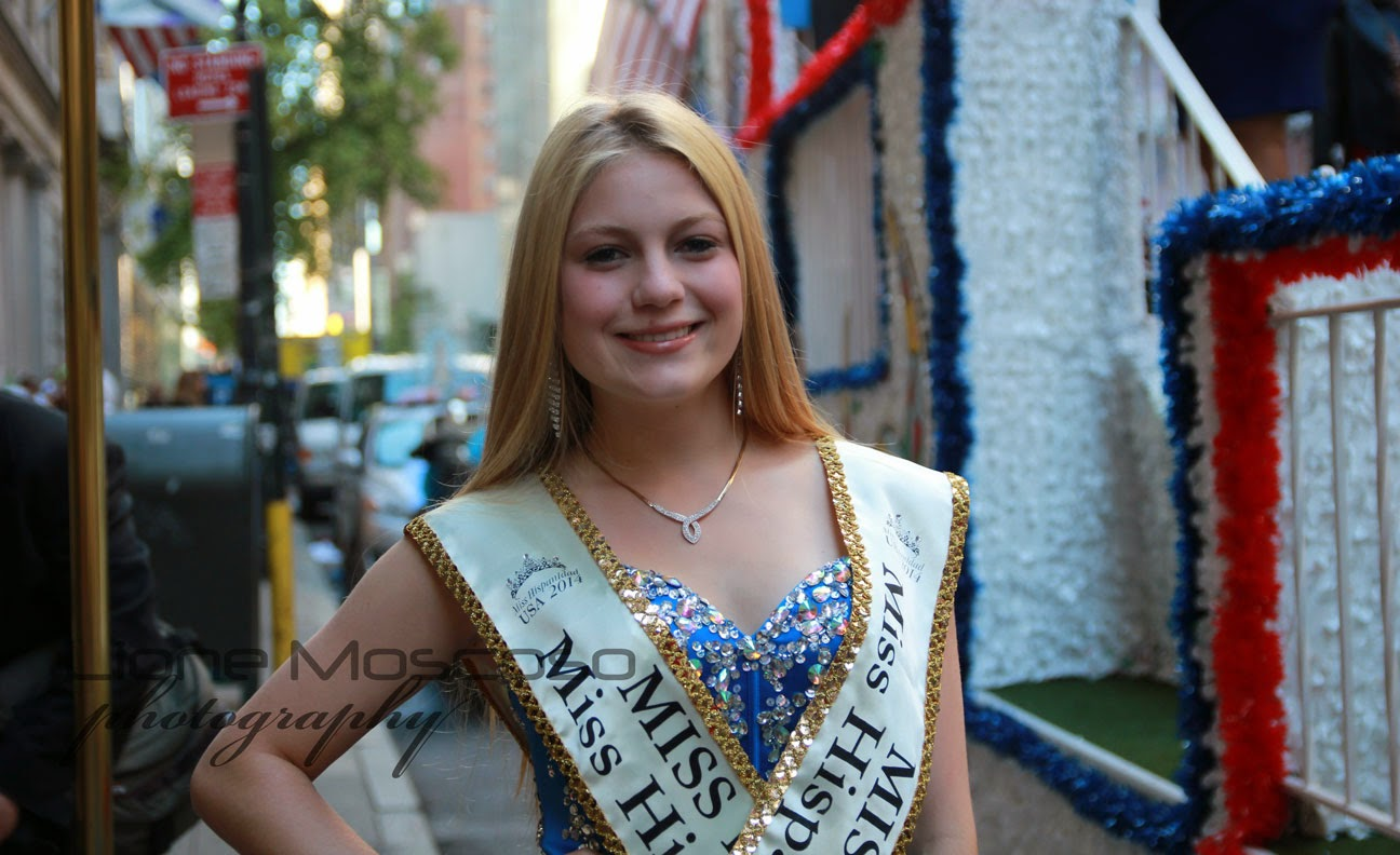 Desfile de la hispanidad de Nueva York 2014 - miss hispanidad