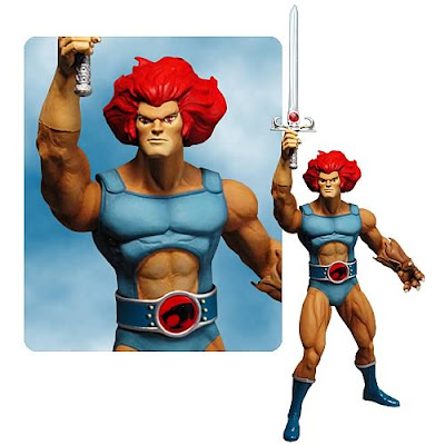 Thunder Cats Figures on Blog Dos Brinquedos  Lion Thundercats Action Figure