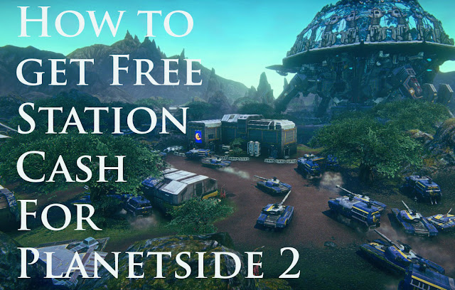 Free Station Cash For Planetside 2