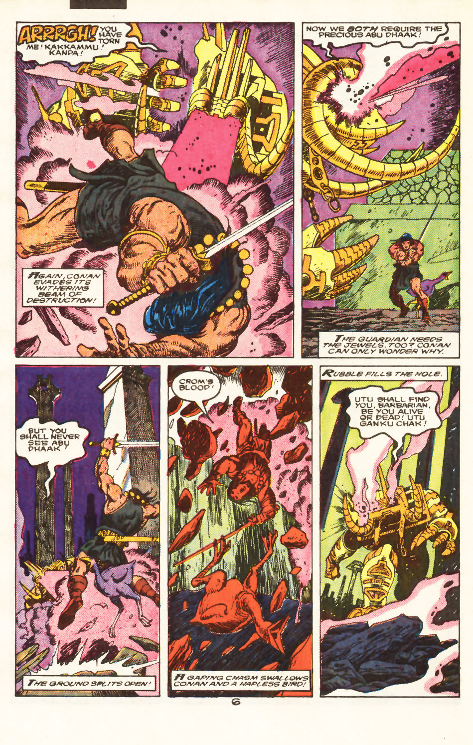 Conan the Barbarian (1970) Issue #217 #229 - English 6