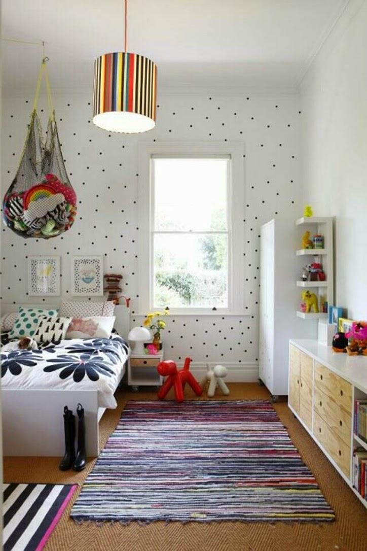 Habitación infantil - Decorar con topos
