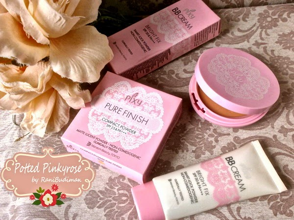 Potted Pinkyrose Haul Indonesian Brand Makeup Haul