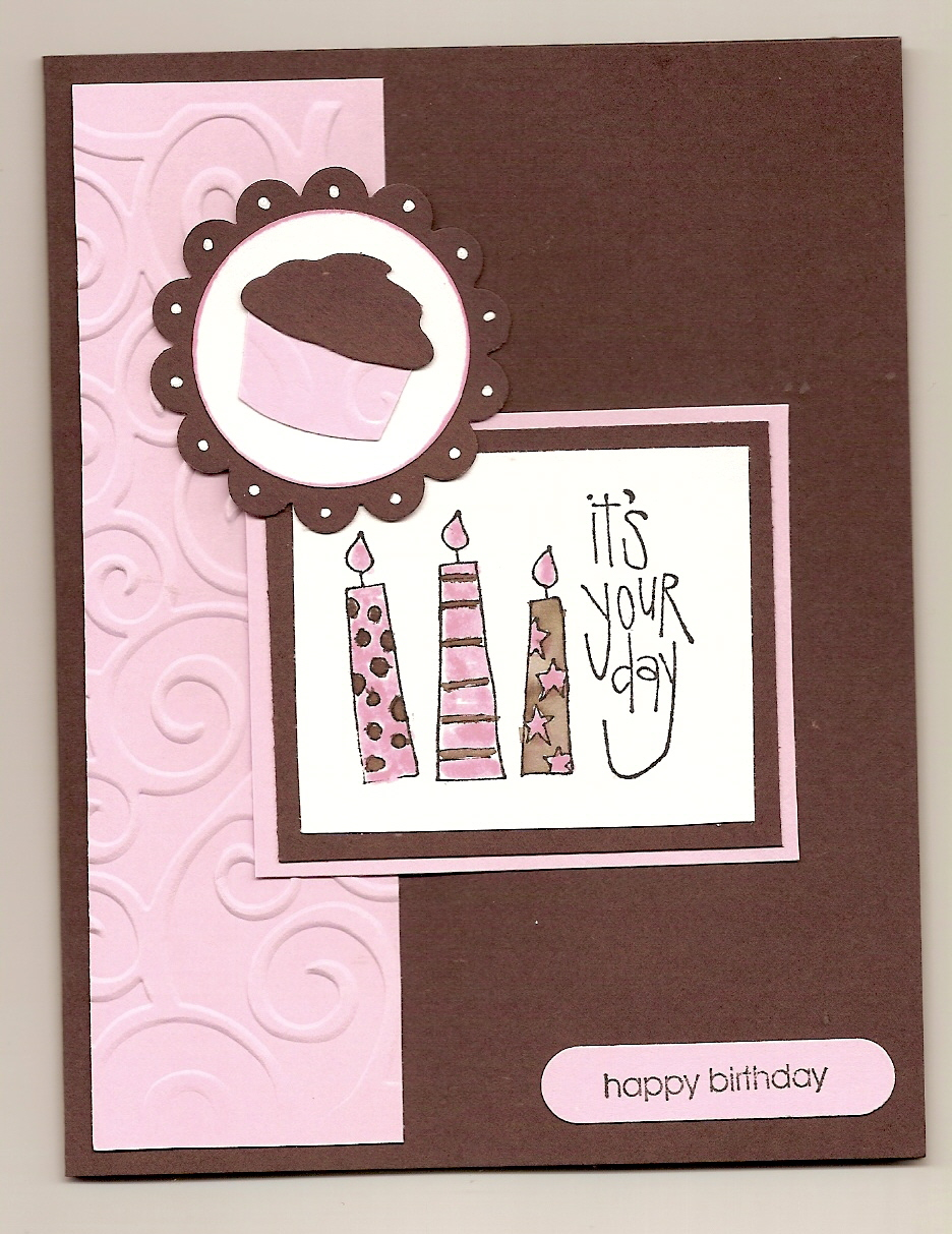 Handmade birthday cards for girls let 39 s celebrate for Diy cards