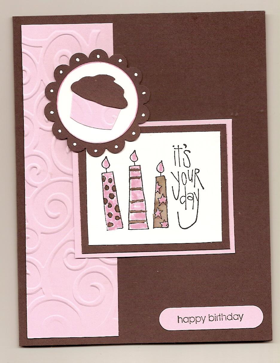 Birthday Cards Ideas Diy ~ Handmade birthday cards for girls let s celebrate