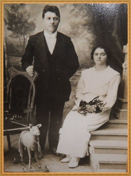Eugênio Dambros e Marcelina Adami