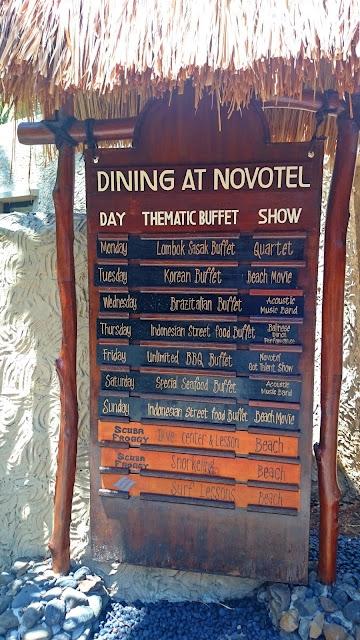 Novotel Lombok - In Balace SpaThematic Buffet Dinner | www.meheartseoul.blogspot.com