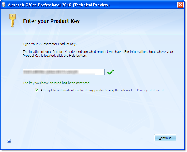 license key for microsoft office 2010