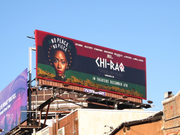 Chi-Raq movie billboard