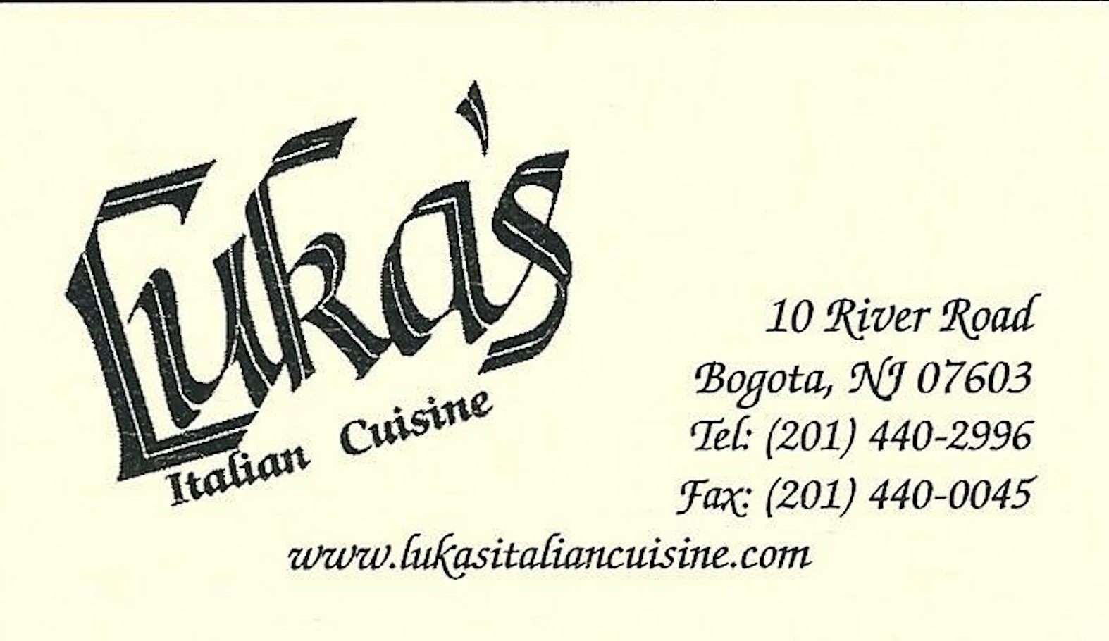 Luka's Italian Cuisine