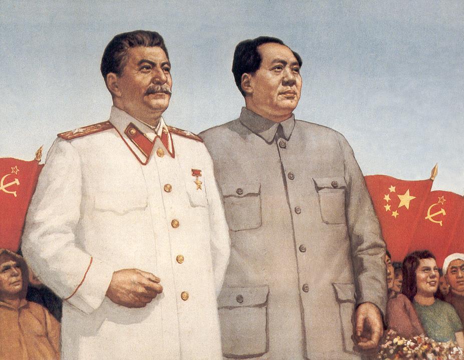 Pacto Ribbentrop-Mólotov (No-Agresion) - Página 5 Stalin-mao