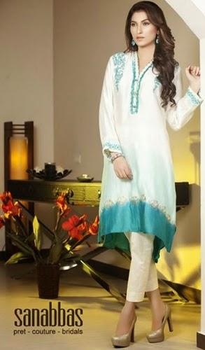 Sana Abbas Pret Eid Collection 2014
