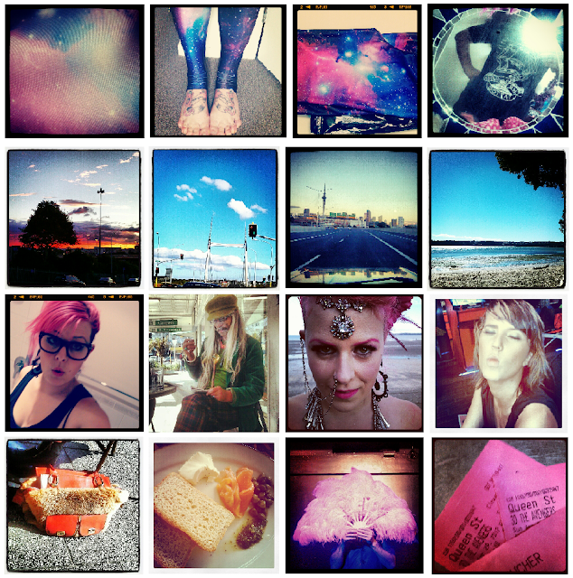 My Week: Instagram photo montage