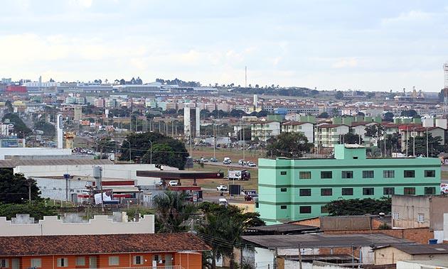Águas Lindas de Goiás é a décima terceira maior cidade do Centro-Oeste