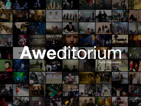 Aweditorium iPad app