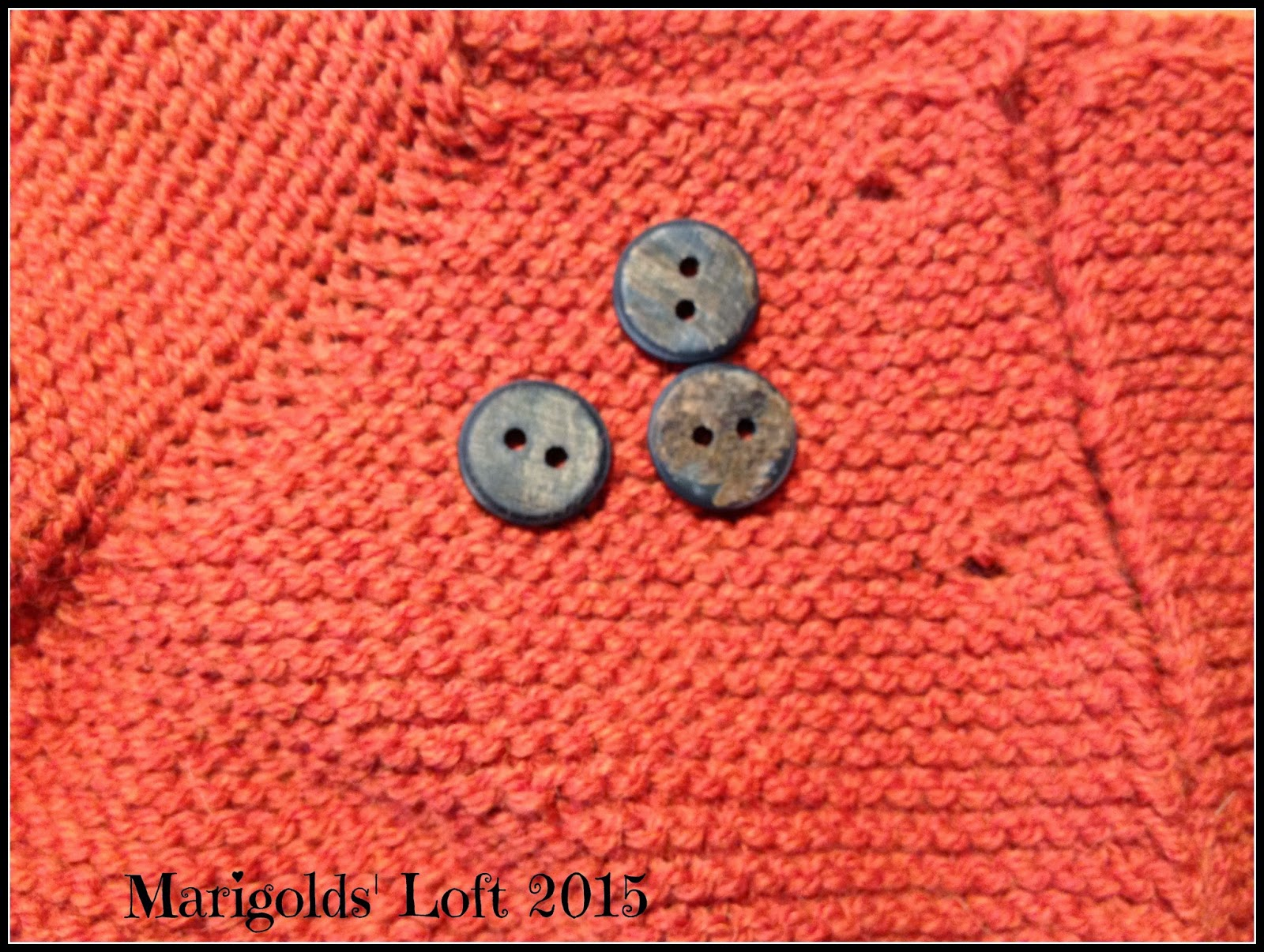 drops buffalo horn buttons