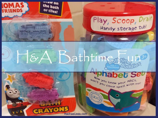 Learning through play with H&A bathtime fun