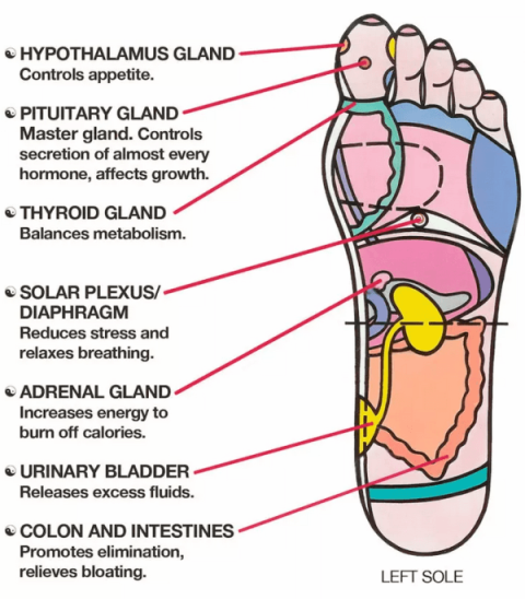 foot massage techniques to remove stress and pressure