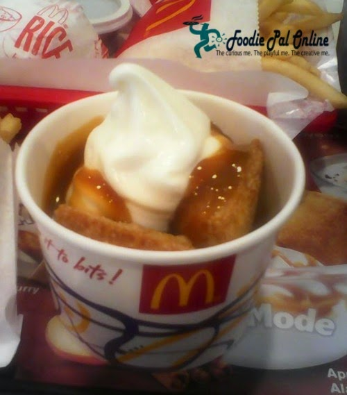 McDonalds Apple Pie Ala Mode