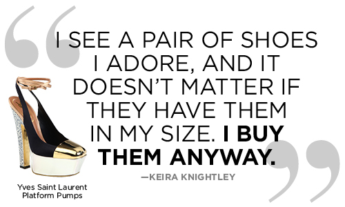 Bytes: Some More Quotes about Women\'s Shoes