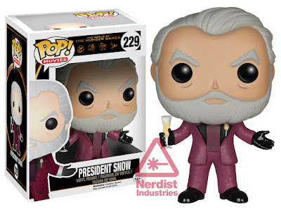 President Snow Hunger Games Funko Pop
