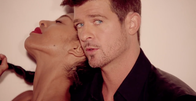 Music: Robin Thicke's Blurred Lines ~ Silver Screen Slags