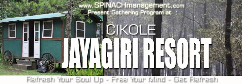 WELCOME : Cikole Jayagiri Resort