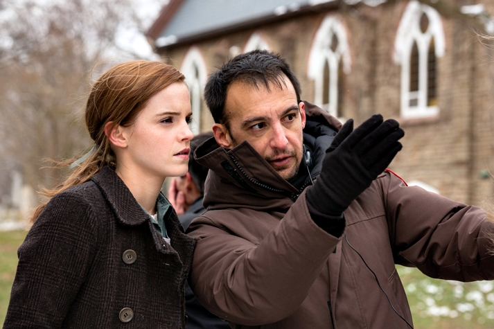 Emma Watson y Alejandro Amenábar
