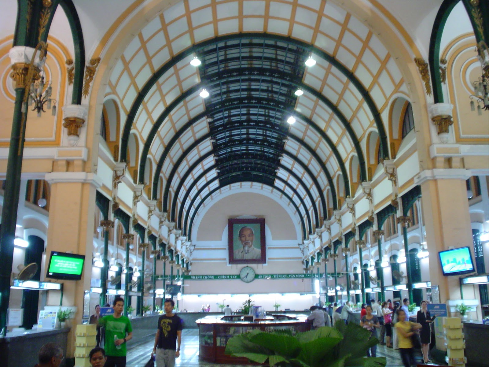 Central Post Office In Ho Chi Minh City Vietnam