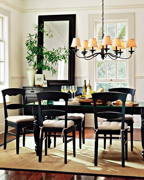 Not so small but pretty dining rooms interior design Pretty dining rooms