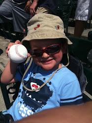 Sean & his baseball