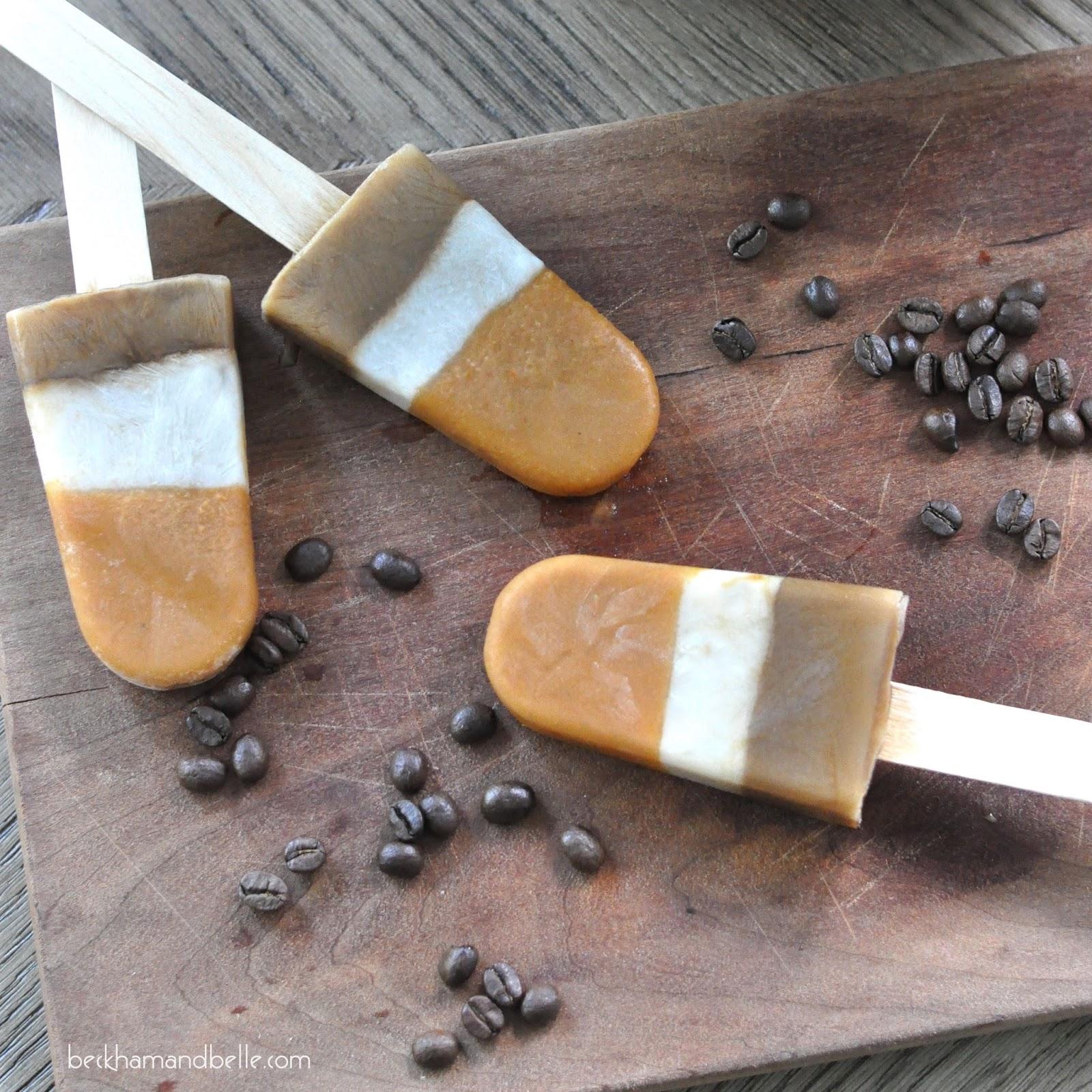 pumpkin spice latte (psl) popsicles