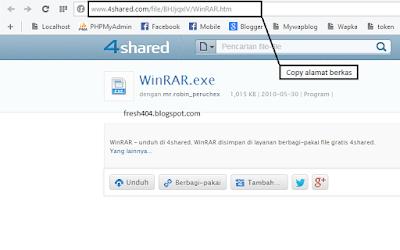 Cara Download di 4shared tanpa login dan menunggu