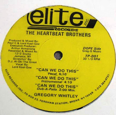 """The Heartbeat Brothers – Time """"2"""" Get Paid / Can We Do This – 12"""" – 1988"""