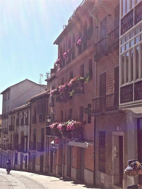 Street in Granada, Spain, on Semi-Charmed Kind of Life