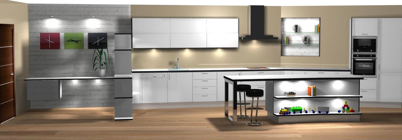 Muebles separador de ambientes mueble separador de for Separador cocina comedor
