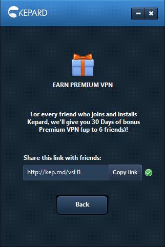 تحميل برنامج Kepard VPN لتغيير الاي بي IP مجانا