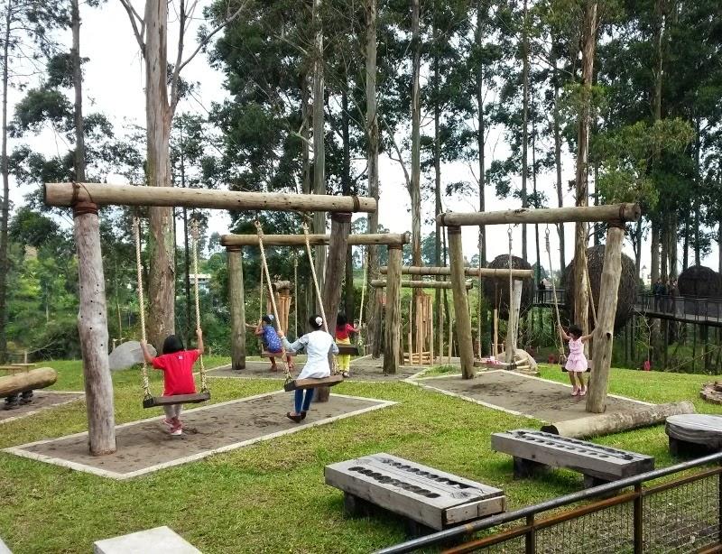 Dusun Bambu, tempat liburan baru di Bandung